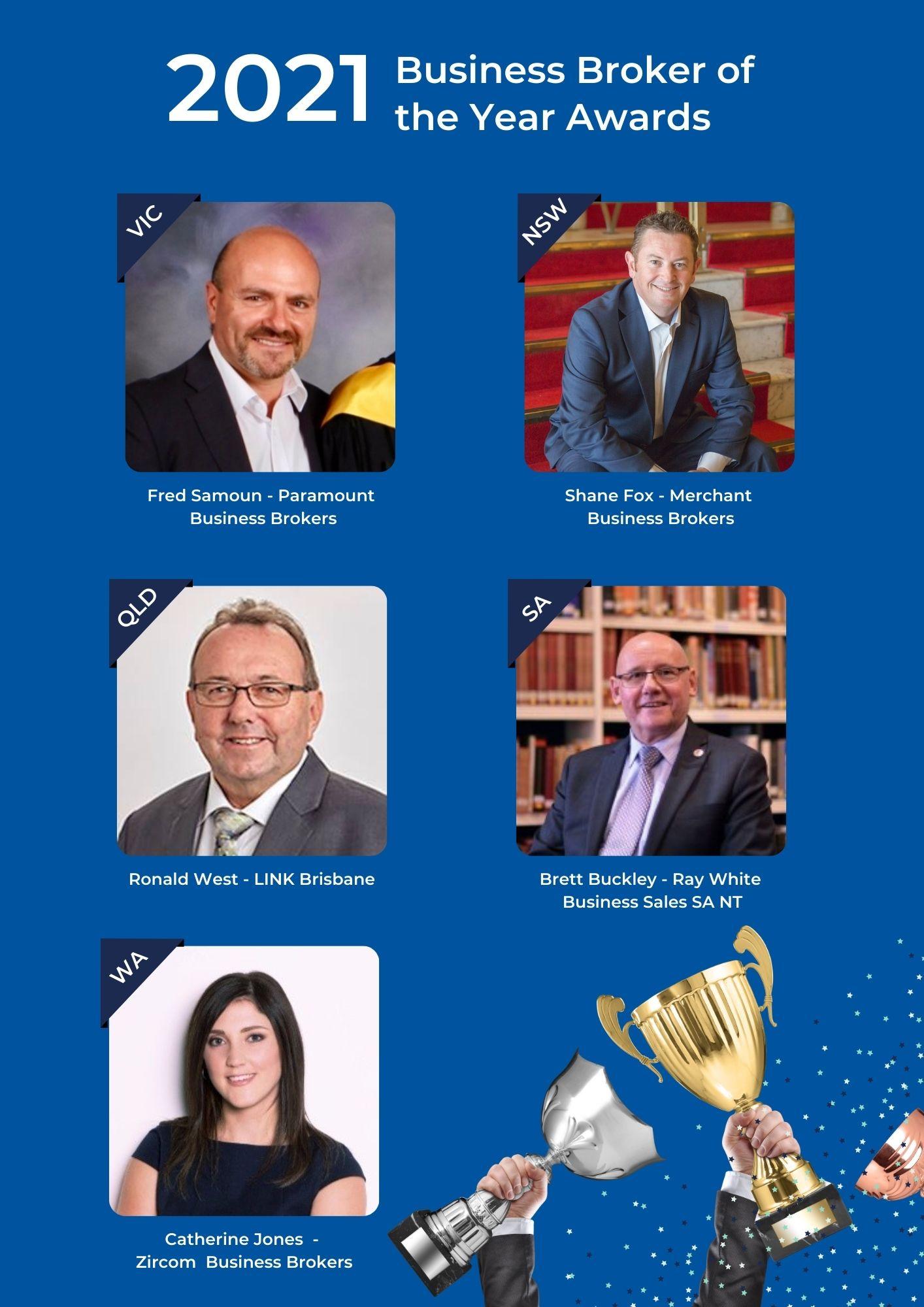 2021 AIBB Business Broker Awards