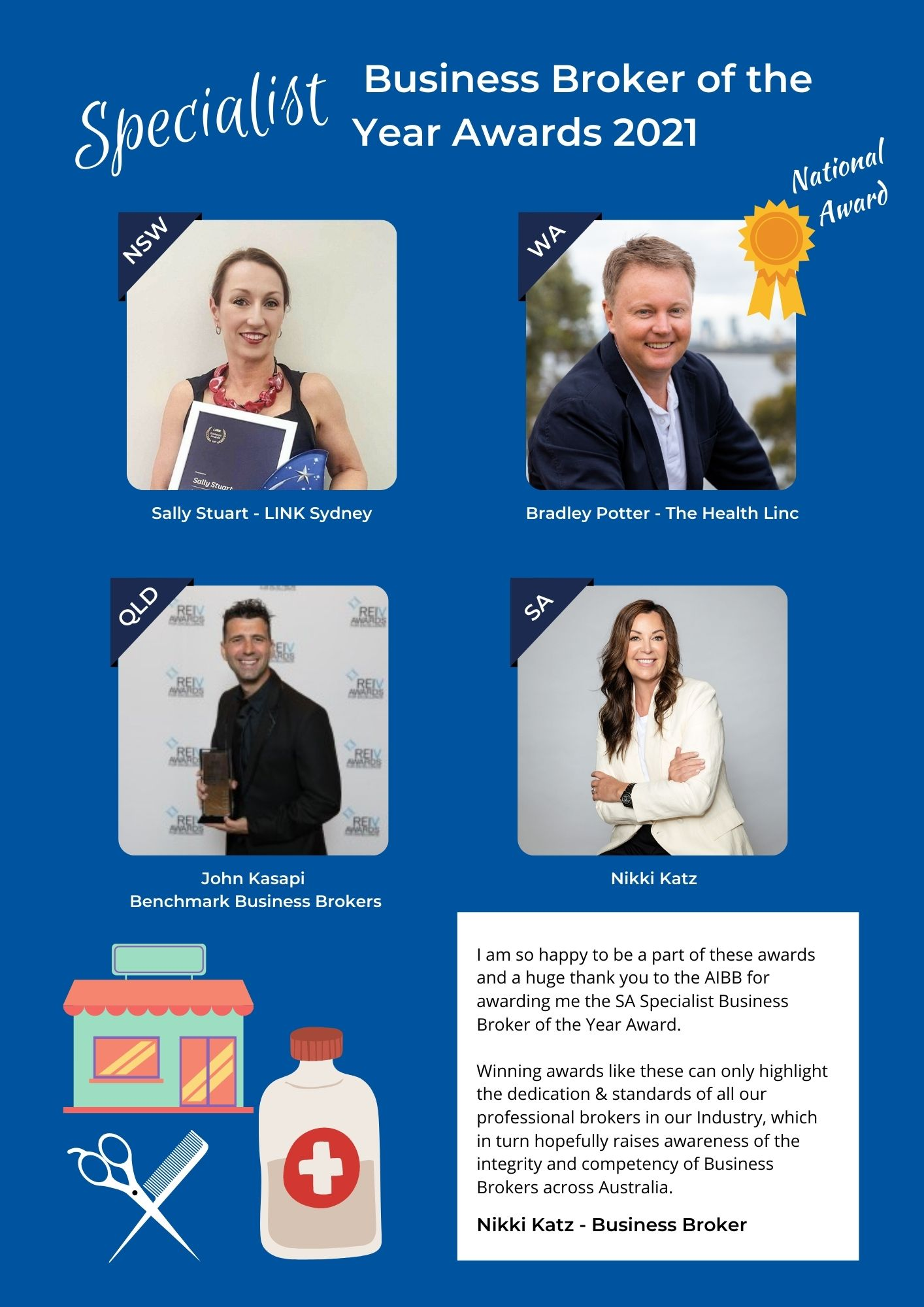 AIBB Specilaist Business Broker Awards 2021