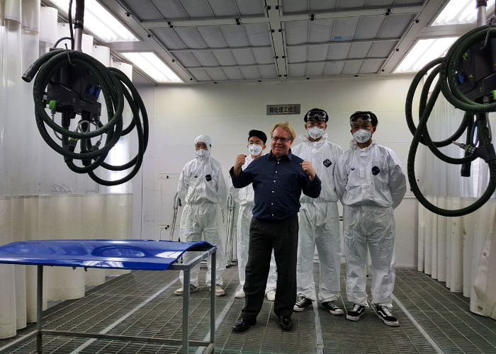 Alan at a Workshop in China