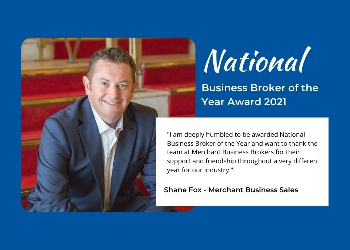 National Business Broker of the Year - Shane Fox
