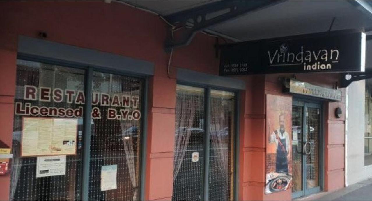licensed indian restuarant for sale in Sydney NSW